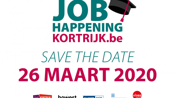 Jobhappening 26 maart 2020 - save the date
