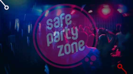 safe party zone bezoekers